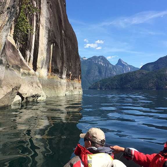 Zodiac Group Tours to World Renown Desolation Sound